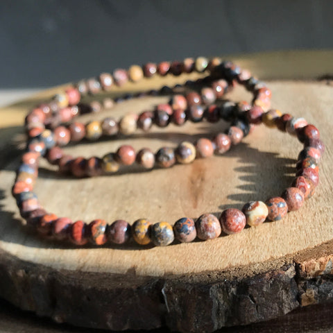 Leopardskin Jasper: Animal Spirit Connection - Bracelet