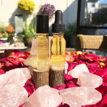 LOVE THYSELF Infused with Rose Quartz Aromatherapy Potion