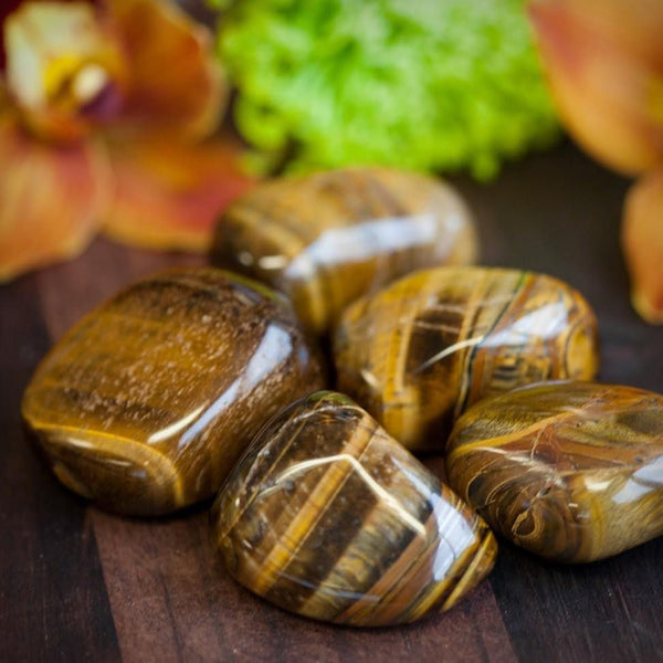 Tiger Eye: Willpower and Protection Tumbled Stone