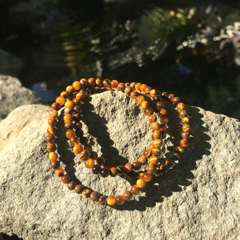 Willpower and Protection Bracelet: Tiger Eye
