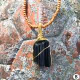 Protection Amulet: Black Tourmaline