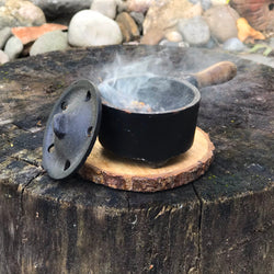 Cast Iron Resin and Herb Burner