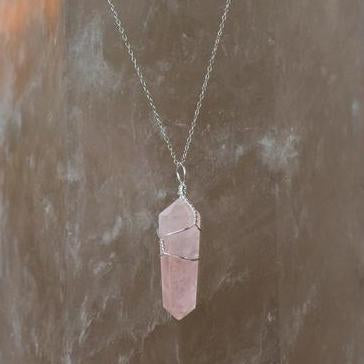Love Pendant: Rose Quartz
