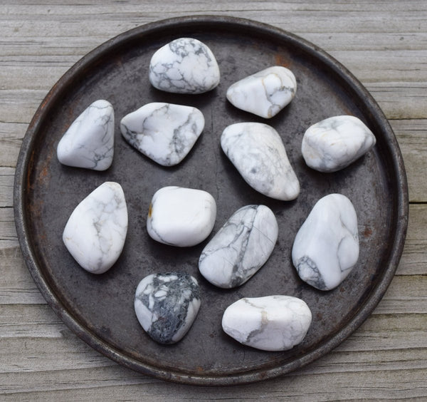 A Stone of Awareness: Howlite