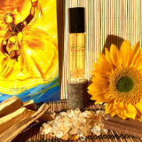 OSHUN Infused with Citrine Crystal Aromatherapy Potion