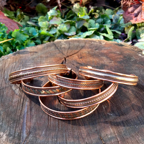 Healing Copper Bracelet - Assorted Designs