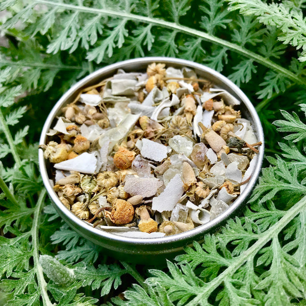 Sacred Space Cleansing Smudge: Sage, Chamomile and Copal