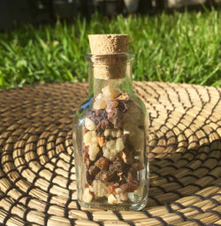 Frankincense & Myrrh in a Glass Jar