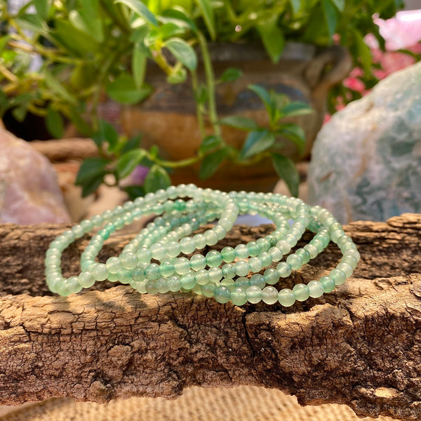 Abundance and Heart Healer Bracelet: Green Aventurine