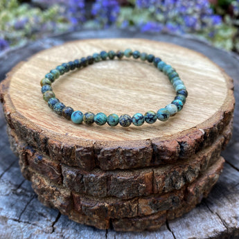 Evolution and Progress Bracelet: African Turquoise