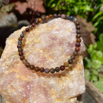 Spiritual Growth Bracelet: Pietersite
