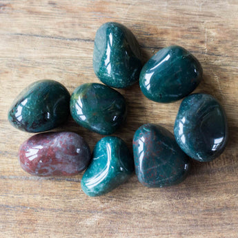 Bloodstone: Change and Challenges Tumbled Stone