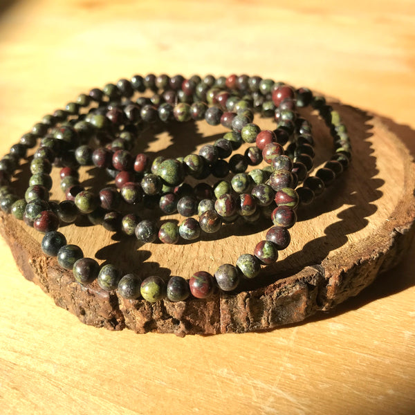 Bloodstone: Changes and Challenges Bracelet