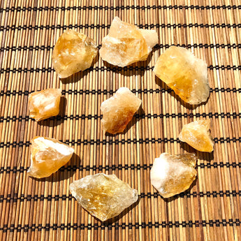 Stir Your Soul to Action Stone: Citrine (Raw)