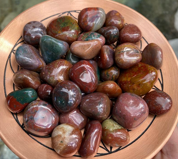 Tranquility and Wellbeing: Fancy Jasper