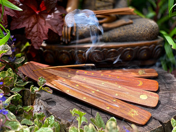 Soul Purifying Incense: Myrrh, Sandalwood, Palo Santo, Lavender, Lemongrass, Cinnamon, Rosemary, Oud, Jasmine, Dragon's Blood
