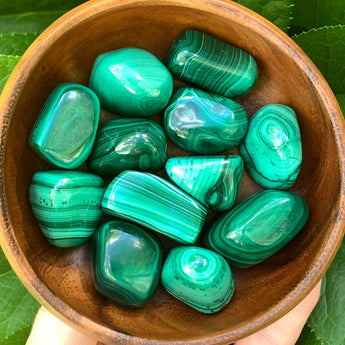 Transformation and Healing: Malachite (large)