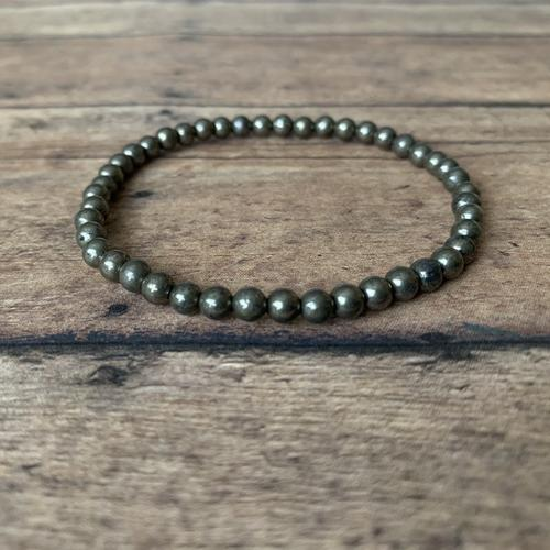 Protection and Prosperity Bracelet: Pyrite