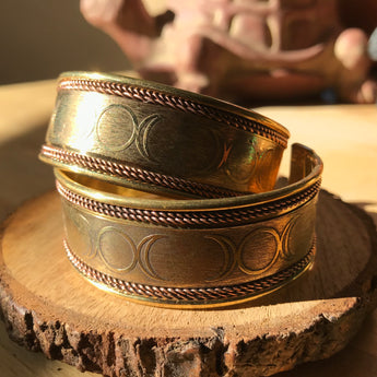 Triple Moon Goddess Bracelet: Divine Feminine Power