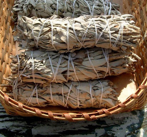 Sage: Cleansing and Clarity Smudge Stick