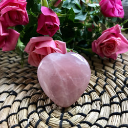 Rose Quartz: Unconditional Love Heart