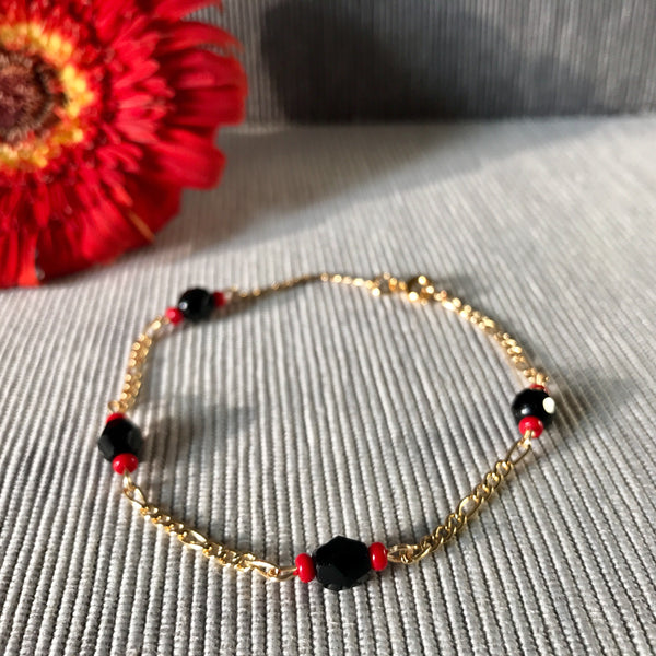 Protection Bead Bracelet (Gold)