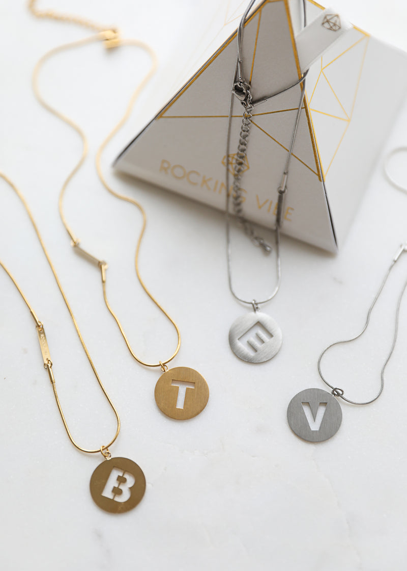Namesake Petite Necklace in steel