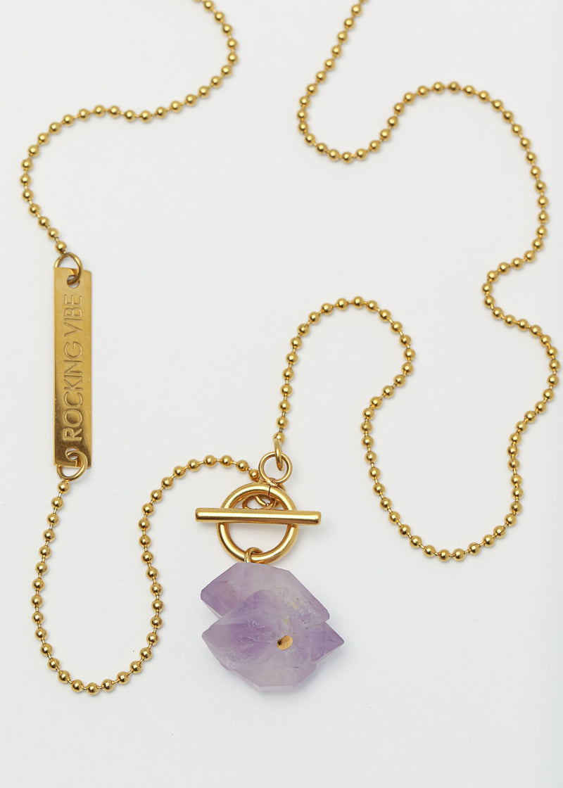 ORIGIN GOLD - RAW AMETHYST