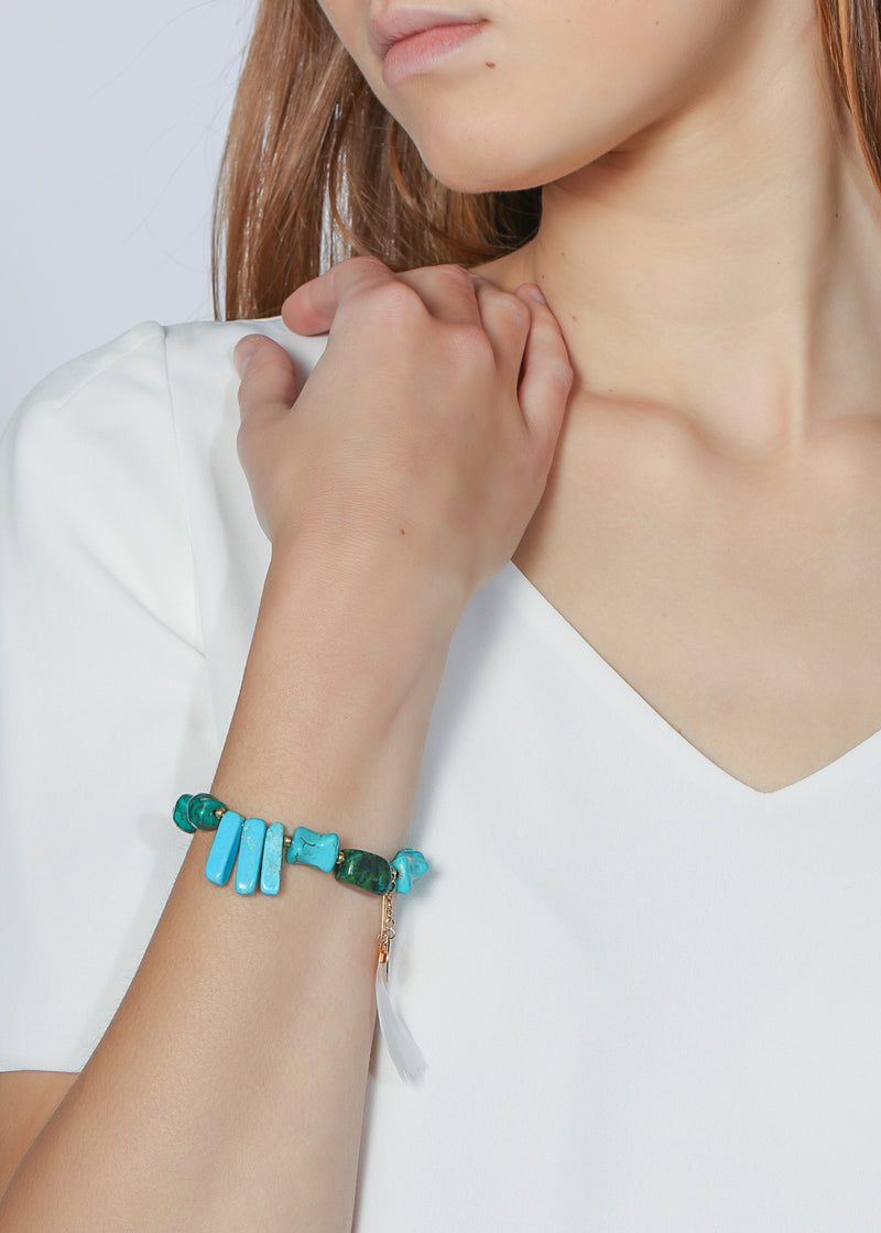 PROJECT HAPPY BRACELET - BLUEBERRY