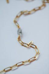 Mi Amor petite adjustable gold