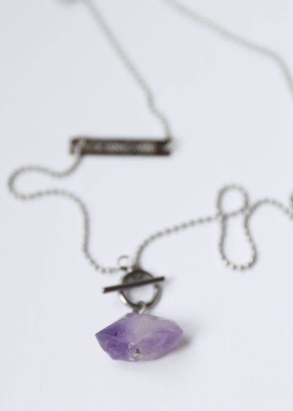 ORIGIN STEEL - RAW AMETHYST