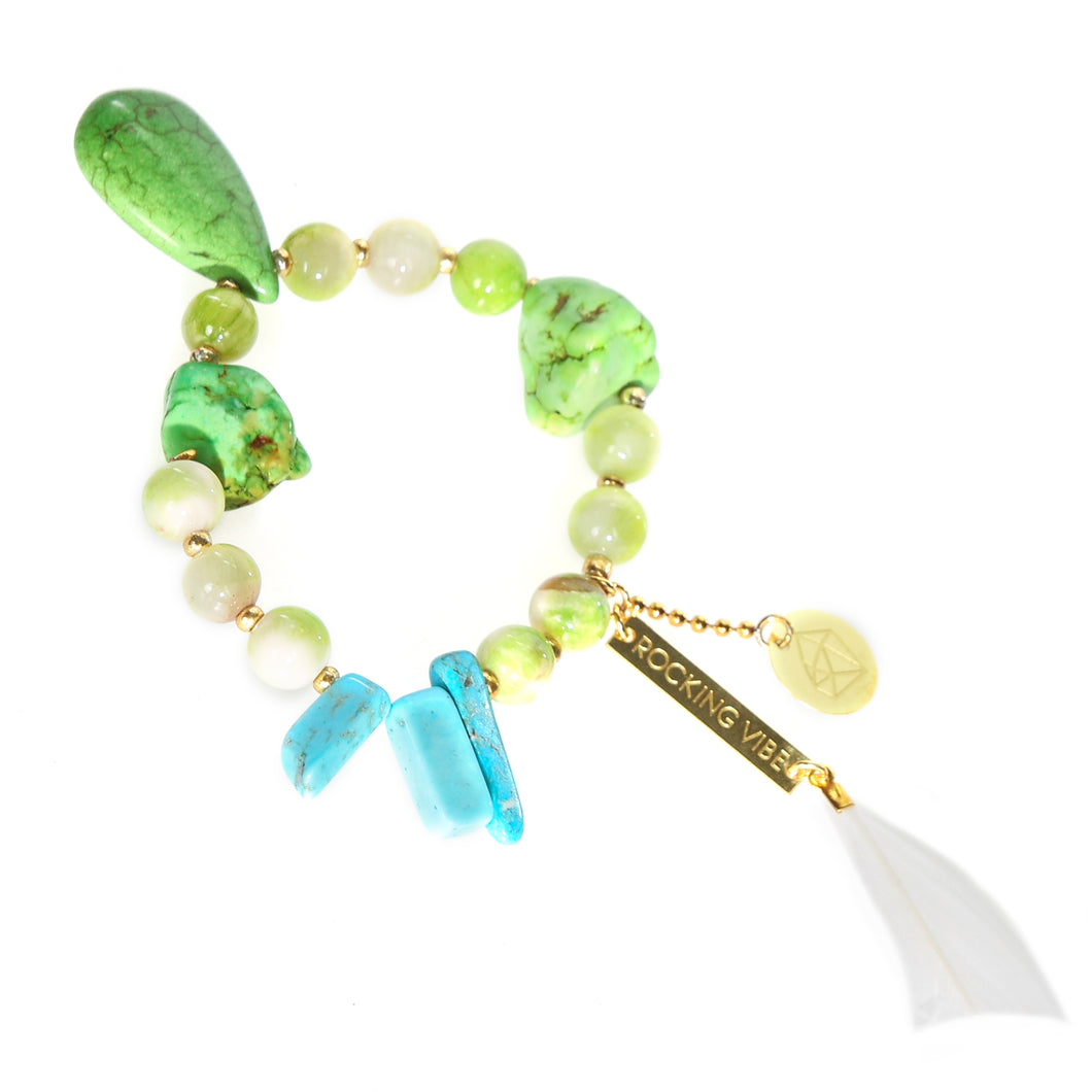 PROJECT HAPPY BRACELET - LIME