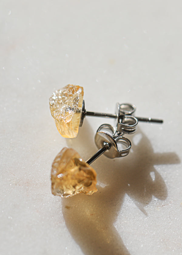 Rock Stud Citrine (single)