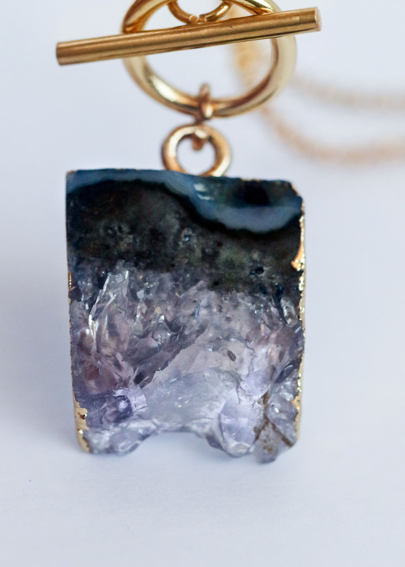 ORIGIN - PLATED AMETHYST