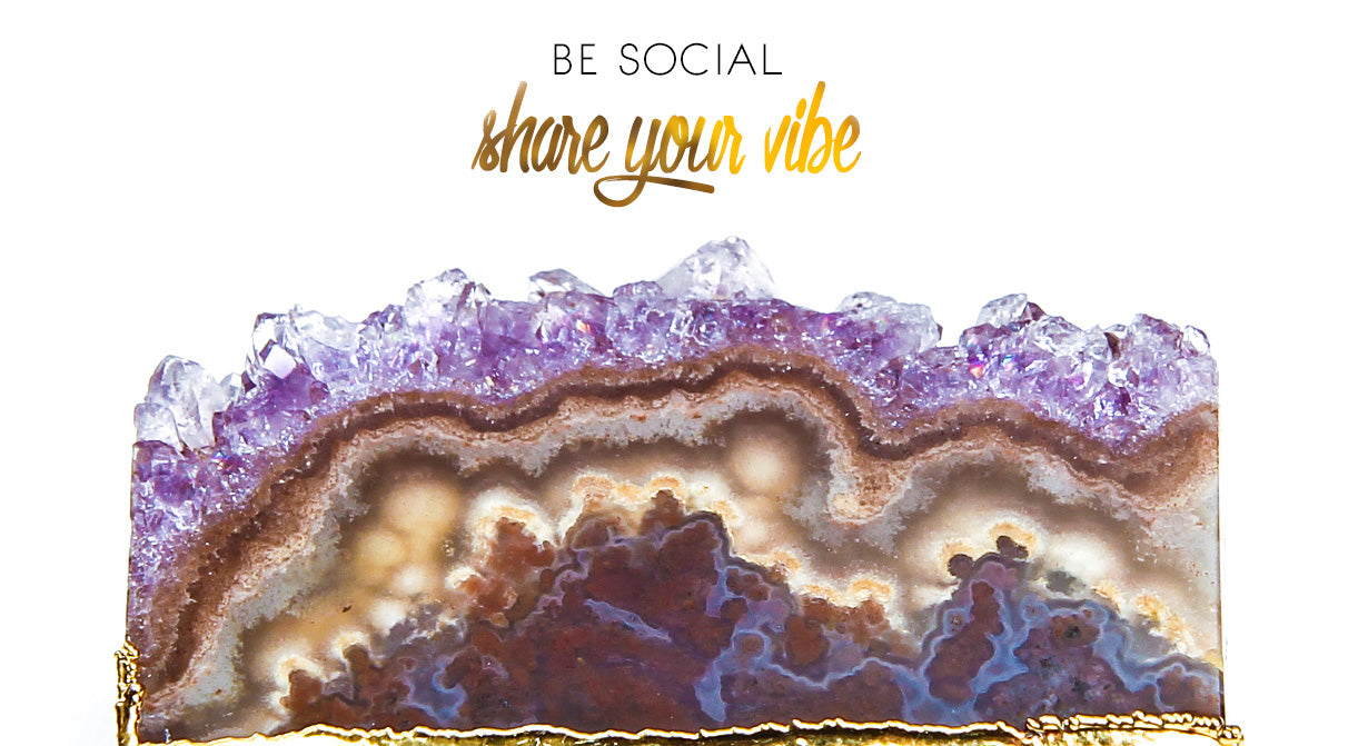 Be social, share your vibe
