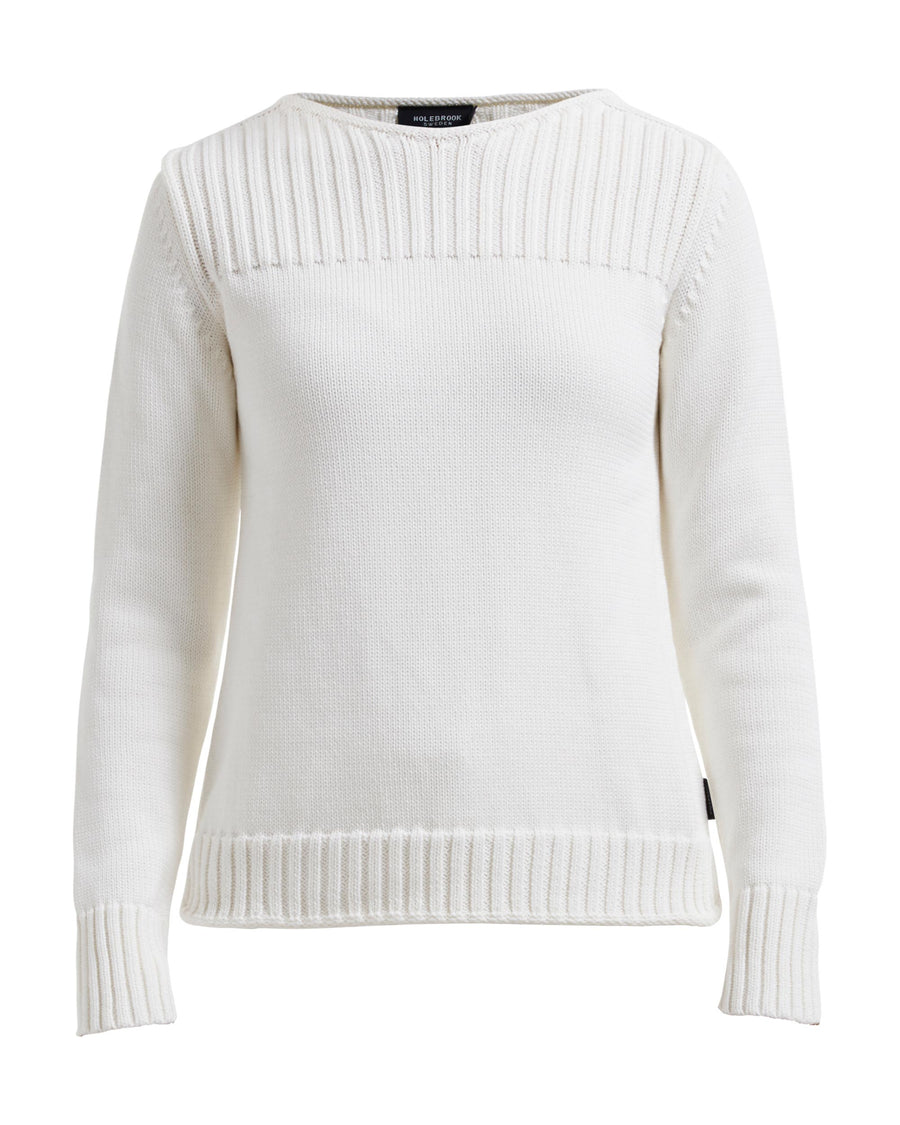 Vivi Boatneck Off White