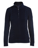 Annika T-Neck Windproof~ Navy
