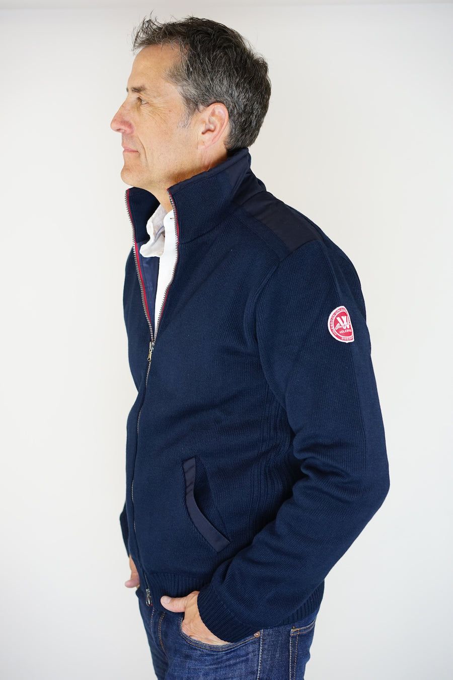 Gregor Full-Zip WP- Navy