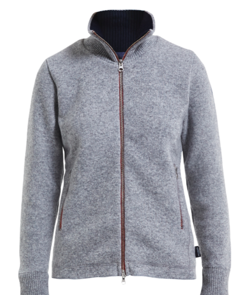 Liv Windproof Full Zip- Grey Mel.