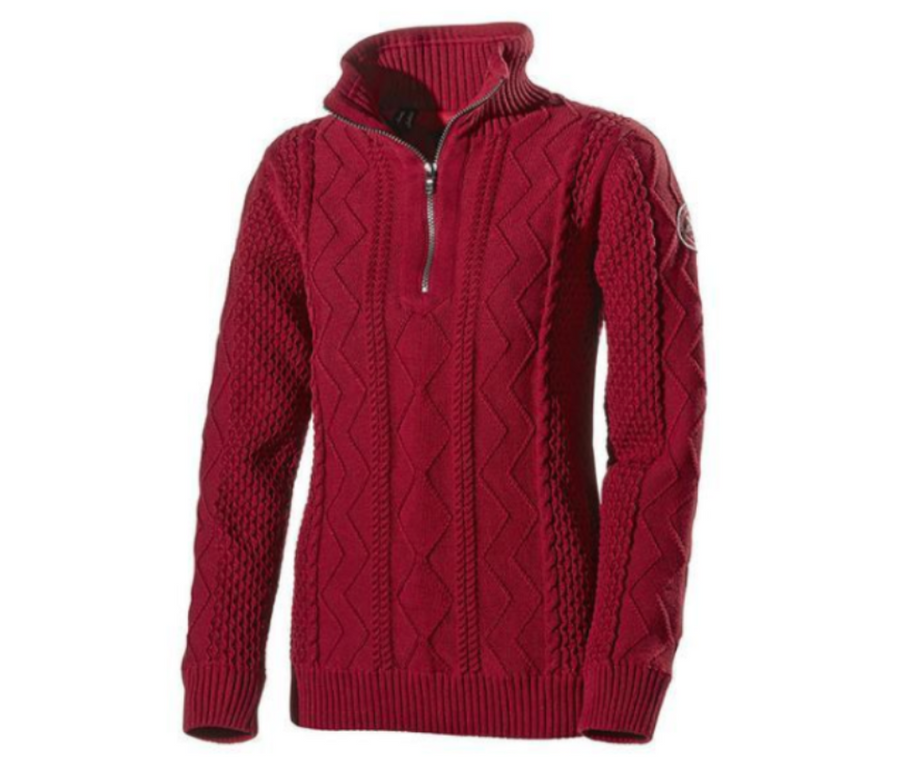 Holebrook Windproof Amy Red sweater jumper cotton