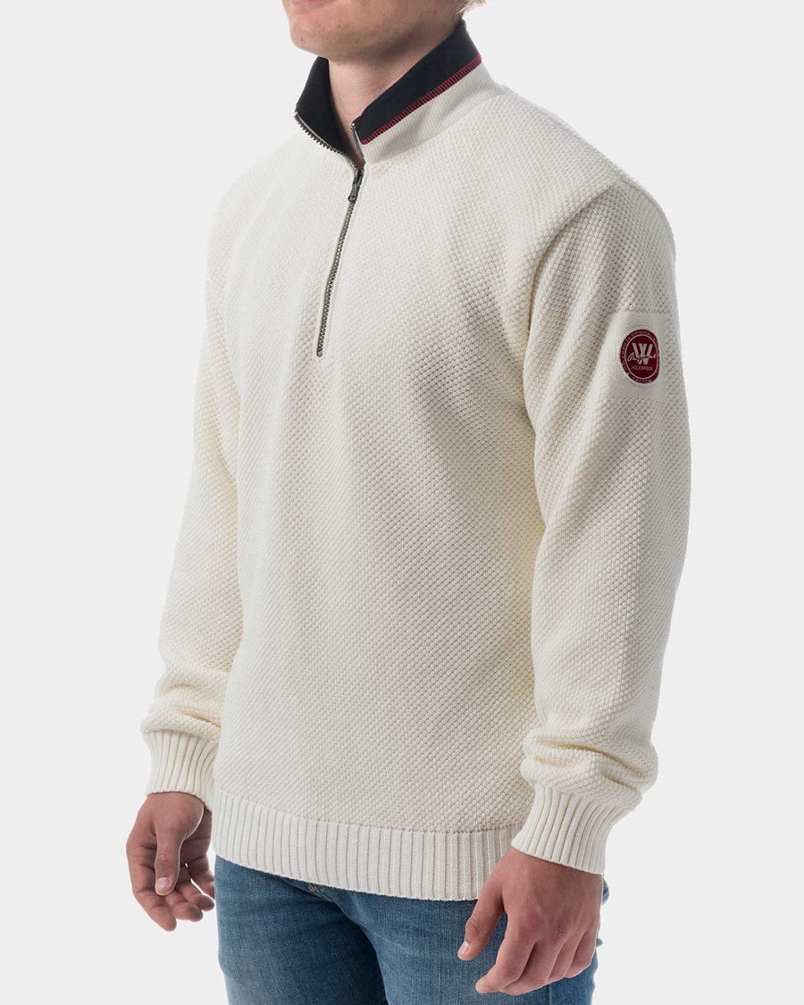 Holebrook Classic Windproof White  Sweater USA Hot guy