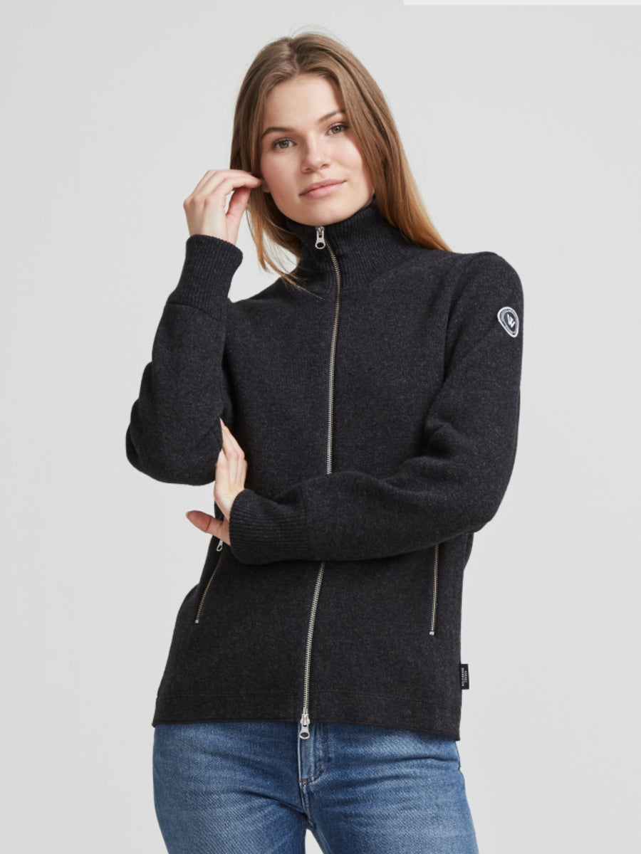 Liv Windproof Full Zip- Anthracite Mel.