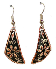 Copper Earrings - Oscardo