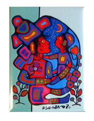 Norval Morrisseau Mother and Child