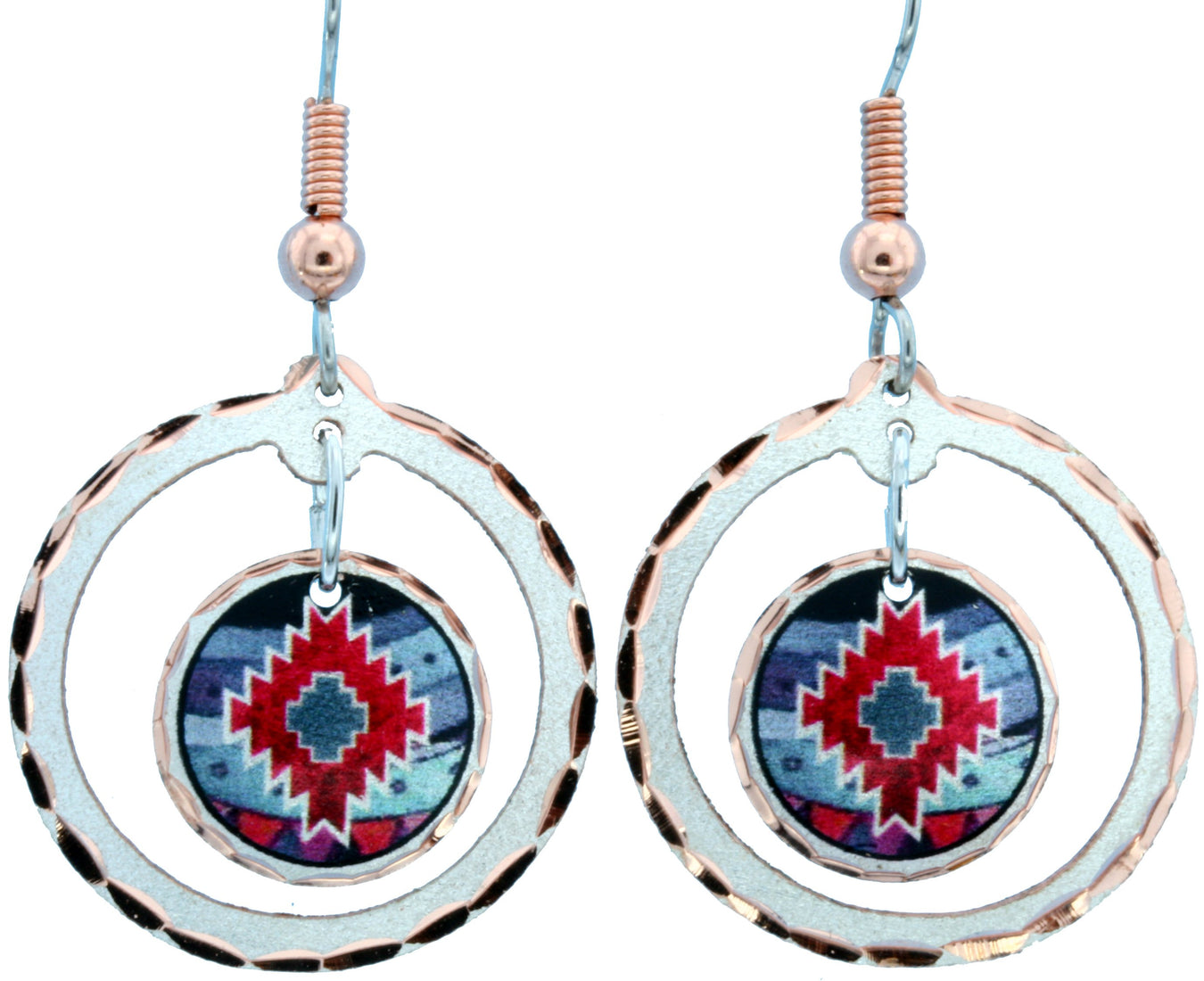 ER Round Colour Earrings