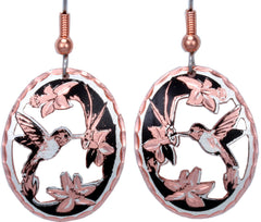 CN Copper Earrings