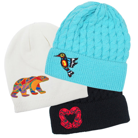 Embroidered Knitted Hats