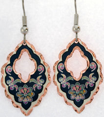 Colourful Flower Earrings - Oscardo