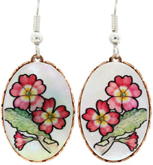 Mother of Pearl Earrings - Oscardo