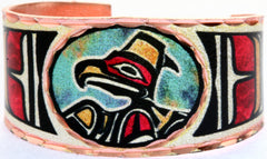 Colourful Northwest Native Rings